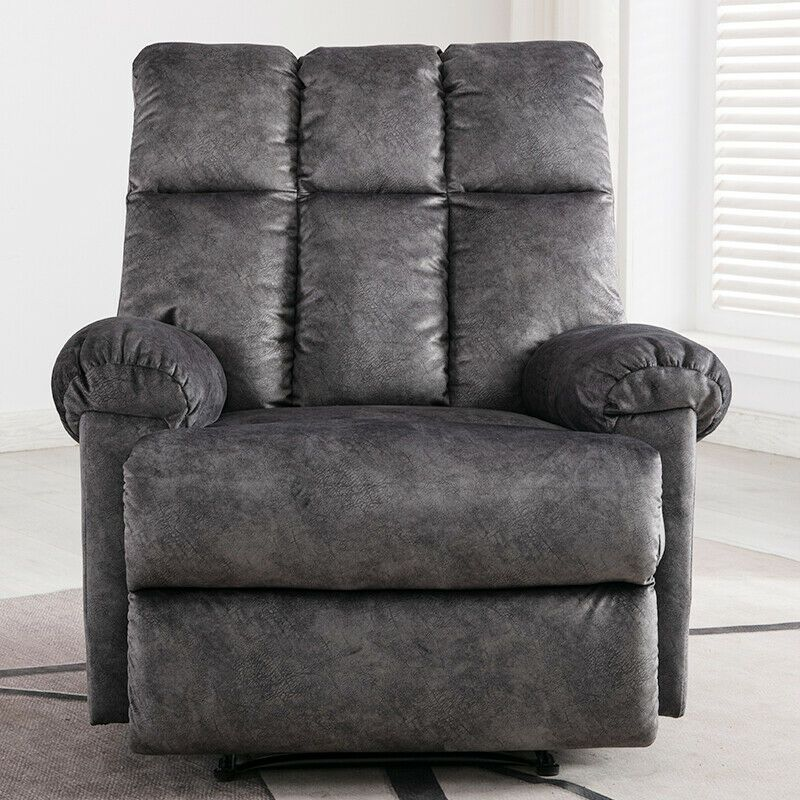 Manual Recliner Arm Chair Heavy Duty Sofa Living Room Theater Seat Furniture New Chair Bedroom Ideas Of Chair B Living Room Theaters Bedroom Chair Armchair
