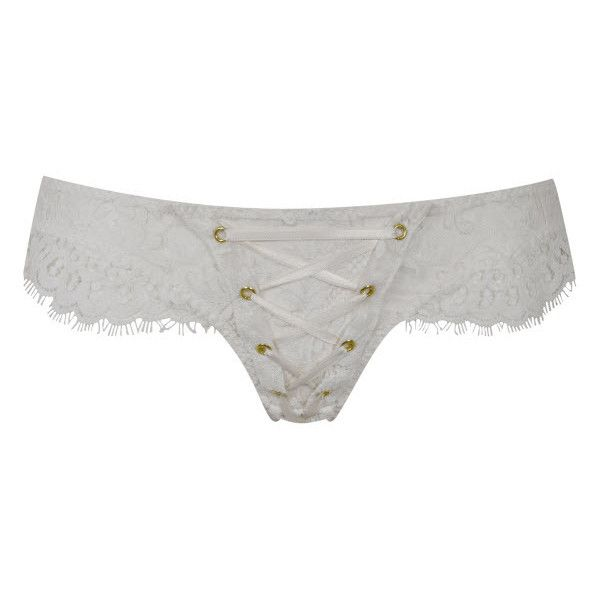 9ab6a23914 Agent Provocateur Vera Ouvert Ivory 2 ( 290) ❤ liked on Polyvore featuring  intimates