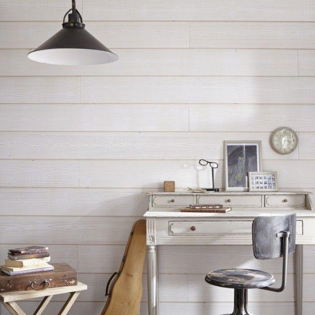 un bureau inspirant | chambre | pinterest | lambris, mur et