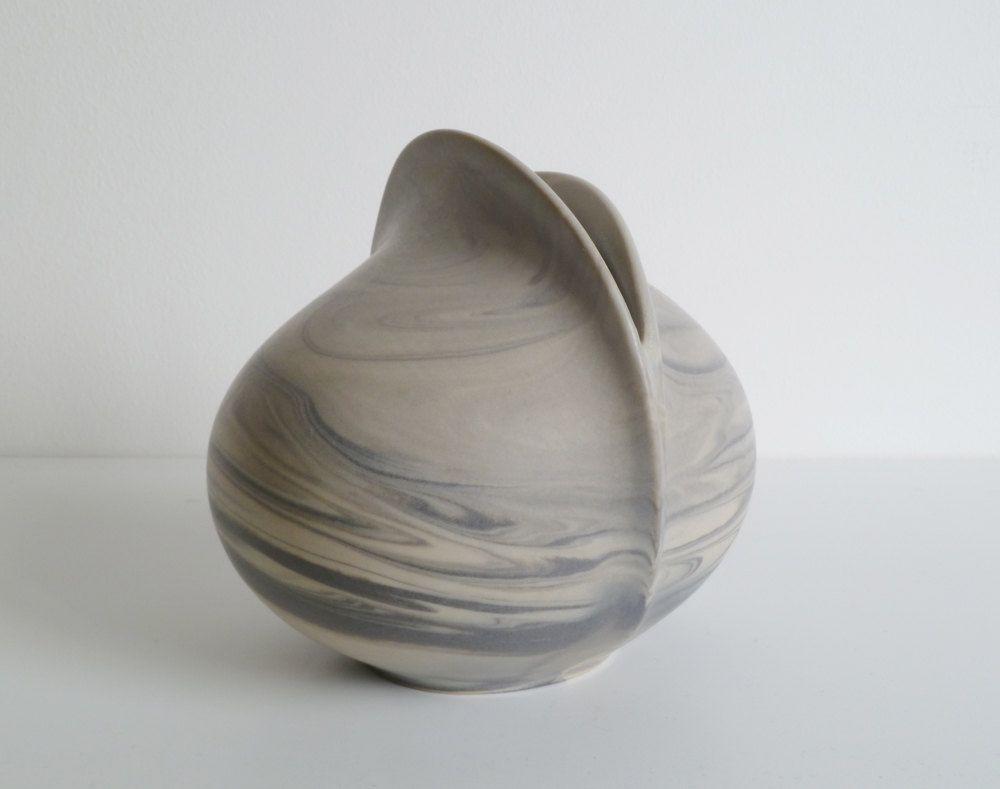 Vintage Sculptural Rosenthal Vase - Uta Feyl 1970s