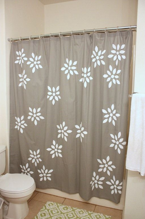 10 Ways To Spice Up Your Shower Curtain Printed Shower Curtain Curtains Diy Bathroom Decor