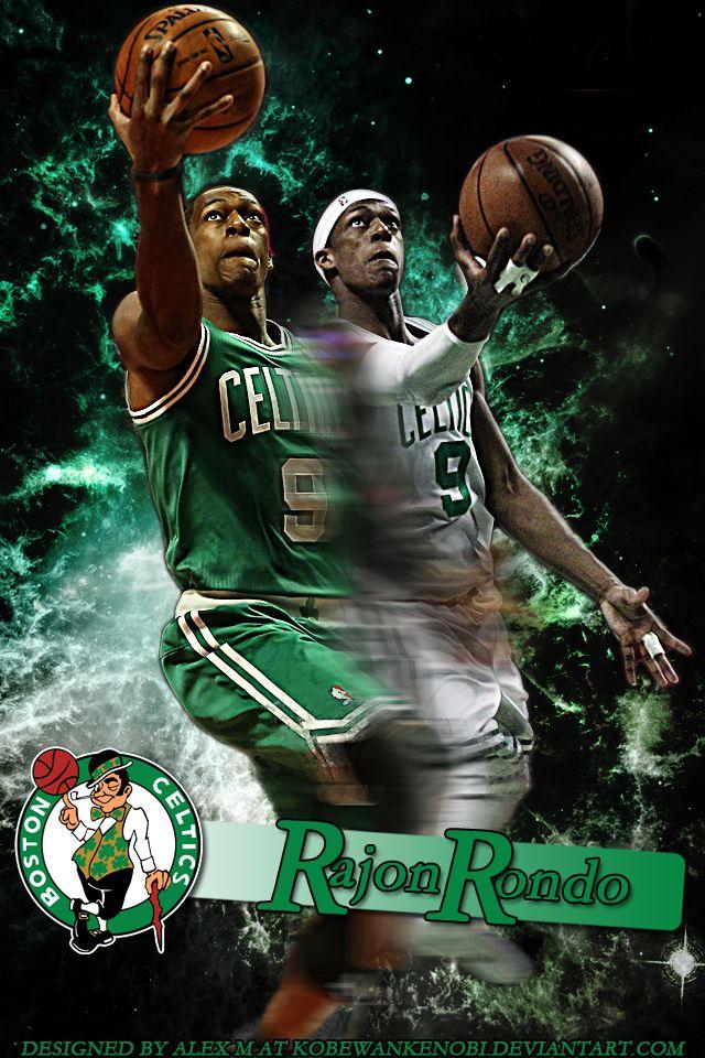 Rondo iPhone Wallpaper by KobeWanKenobi Boston Celtics
