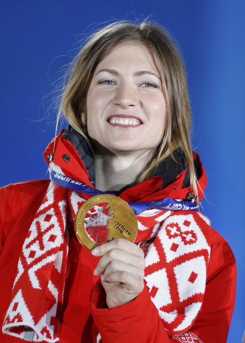 darya domracheva belarus winner of gold medal for