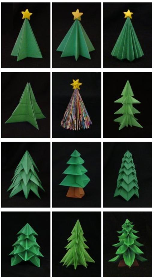 let 39 s make diy origami christmas decorations together. Black Bedroom Furniture Sets. Home Design Ideas