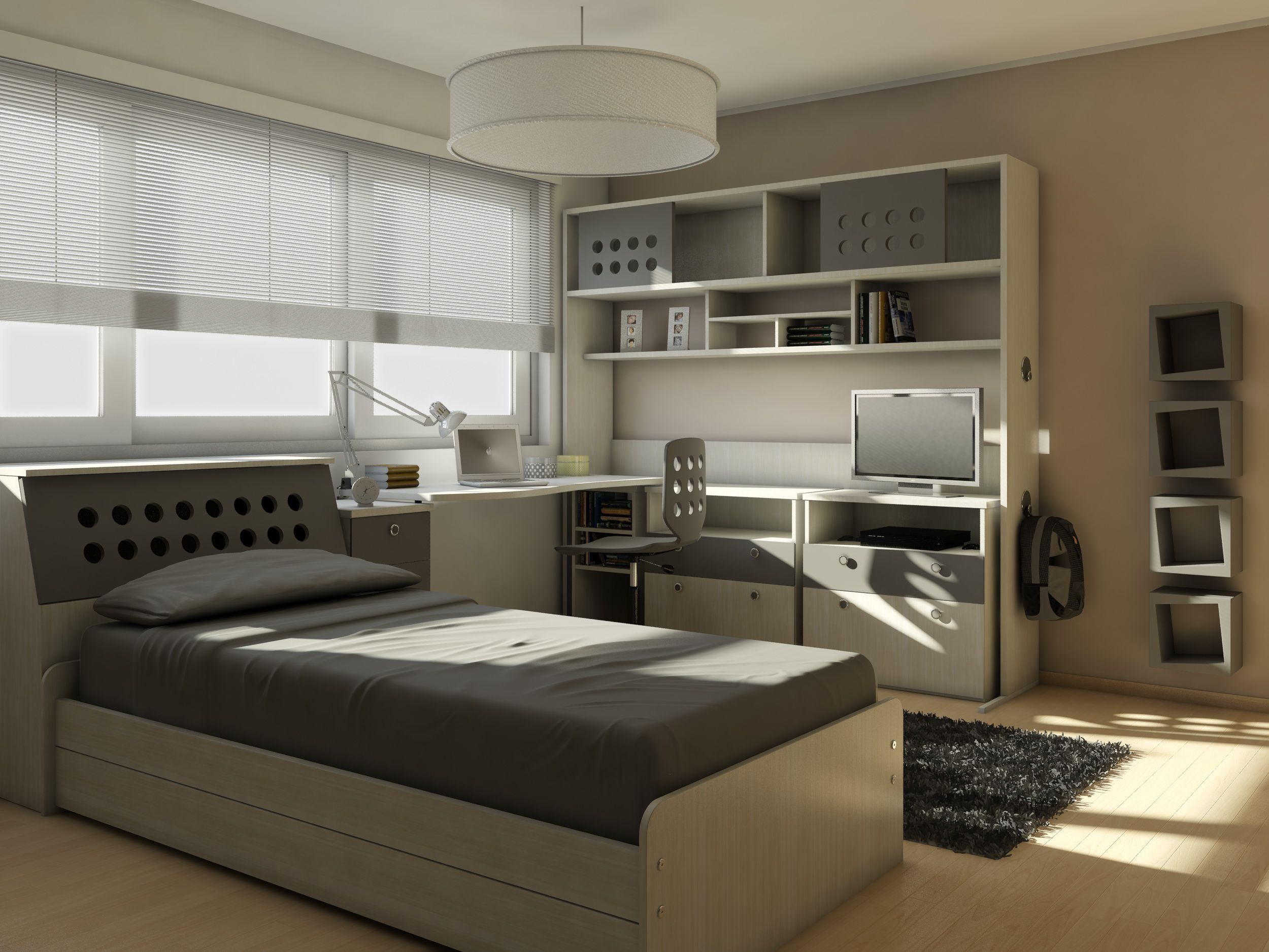 Dormitorios Juveniles Modernos Para Varones