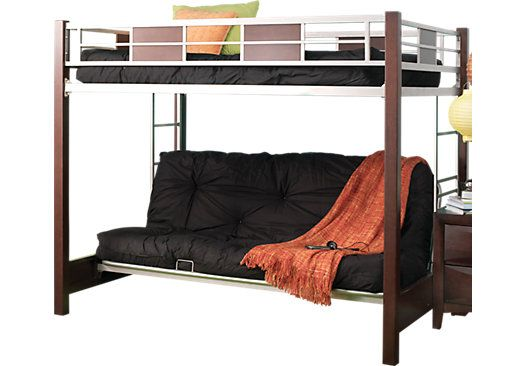 Wondrous Ivy League Cherry 4 Pc Full Futon Loft Bed Bedroom Theyellowbook Wood Chair Design Ideas Theyellowbookinfo