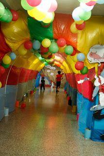 Dr Seuss Hallway Dr Seuss Birthday Party School