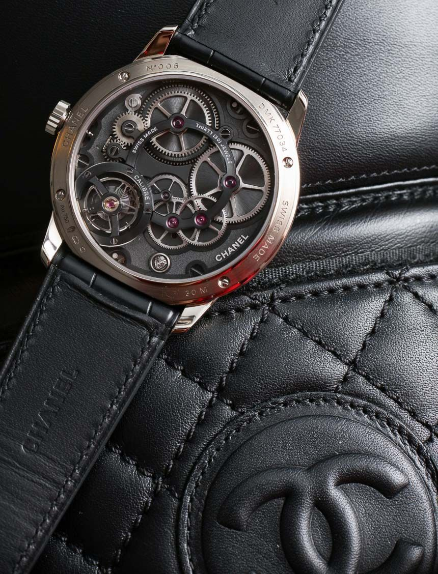 5254bd3d6ab80 Chanel Monsieur Watch With First In-House Movement Hands-On ...