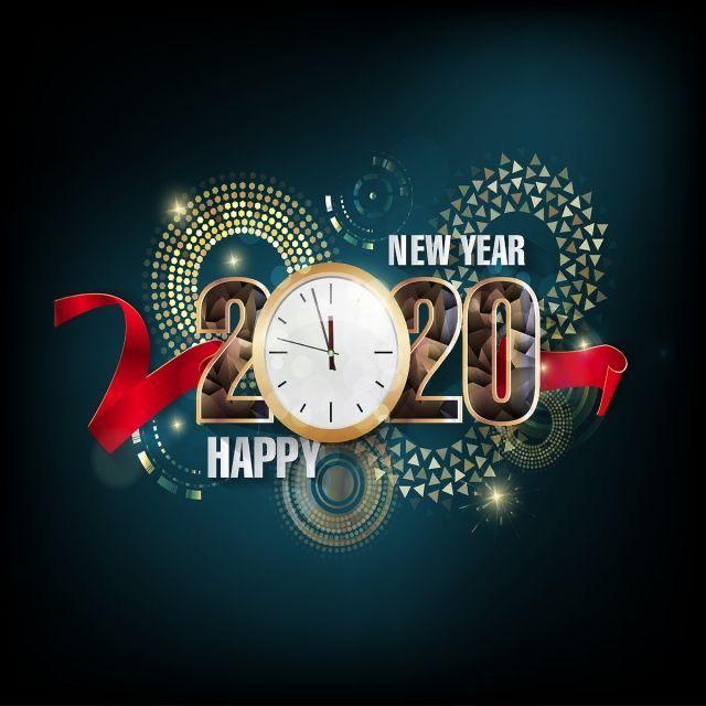 Happy New Year 2020. С Новым Годом 2020. Желаем счастья ...