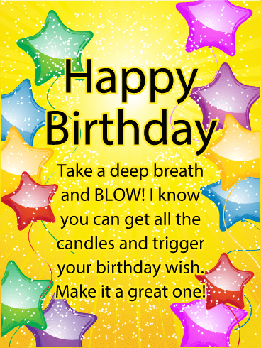 Make It A Great One Happy Birthday Card Birthday Greeting Cards By Davia Happy Birthday Cards Happy Birthday Wishes Quotes Happy Birthday Woman