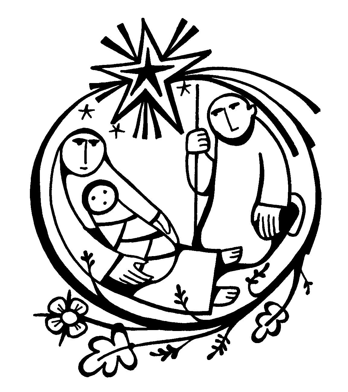 home coloring pages baby jesus manger page id 83005 ... | Christmas ...
