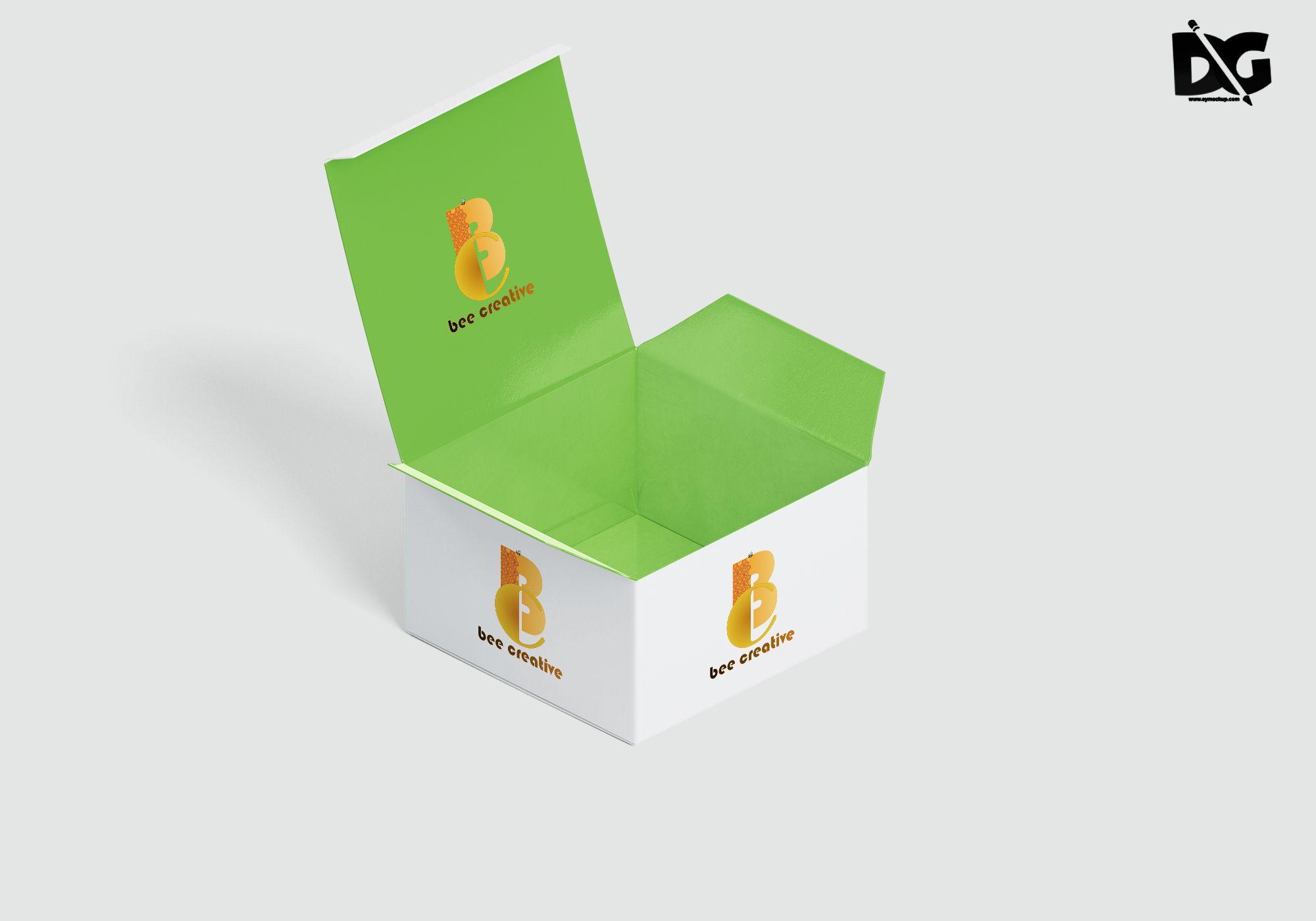 Download Open Small Acrylic Box Mockup Box Mockup Mockup Free Psd Free Mockup