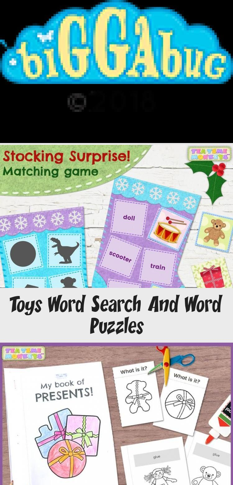 Toys Word Search And Word Puzzles in 2020 (With images
