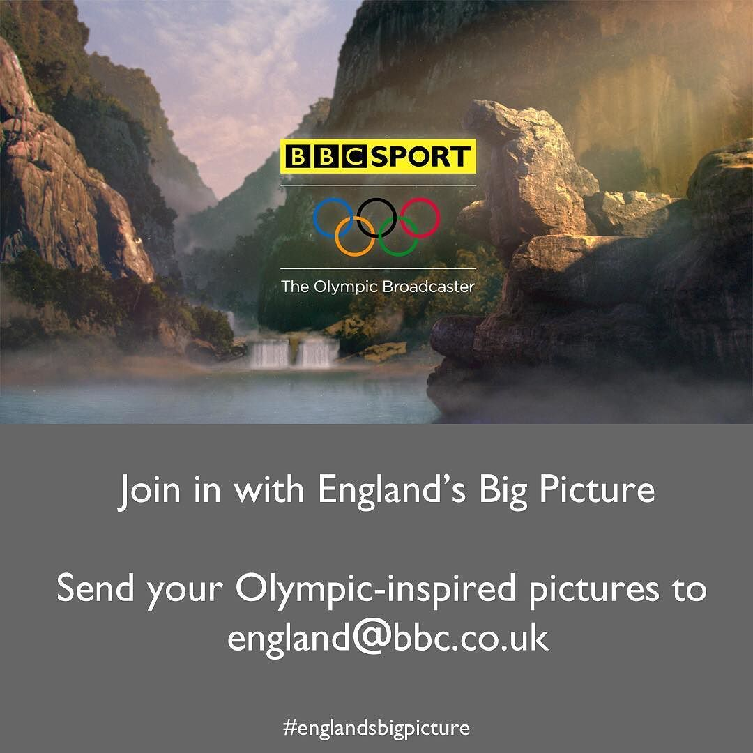 This week's theme for #EnglandsBigPicture is the Olympic story. Send your Olympic-inspired pictures to england@bbc.co.uk #englandsbigpicture #england #picoftheweek #summer #rio2016 #olympics