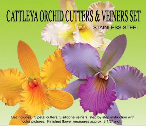 Cattleya Orchid Gumpaste Cutter Set Check This Awesome Product By Going To The Link At The Image Cattleya Orchid Orchids Cattleya