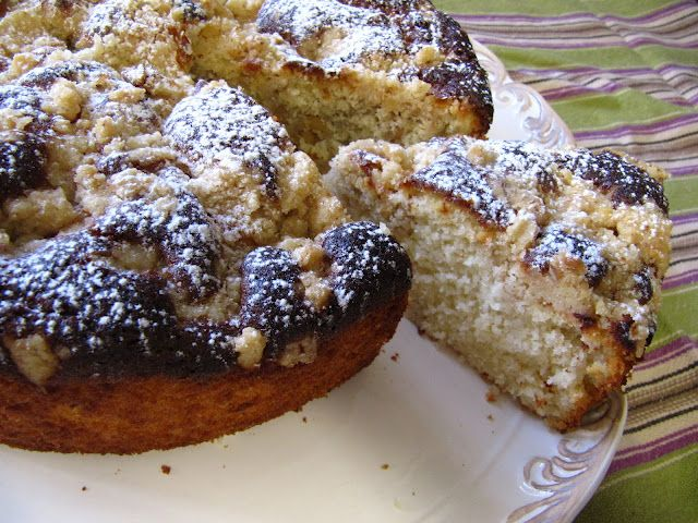 עוגת קוקס לימון עם בצק אגוזים