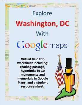 Explore Washington, DC with a Google Maps Virtual Field Trip ...