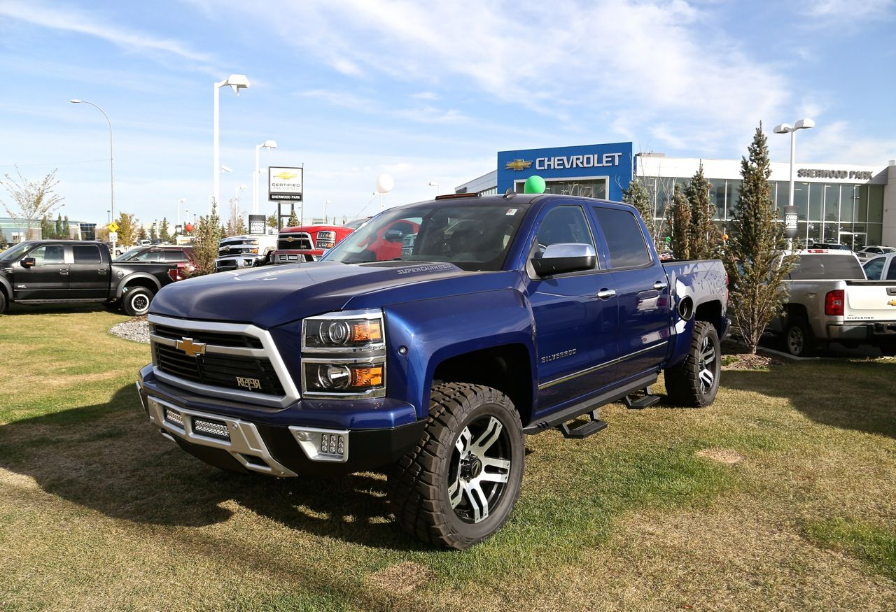 Chevy Reaper For Sale >> Blue 2014 Chevy Reaper Sherwood Chev Edmonton Trucks Chevy