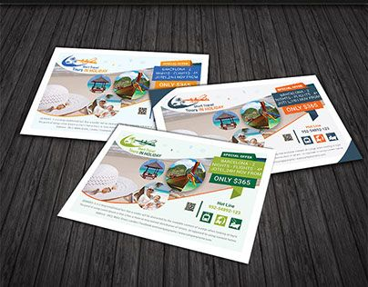 Check out new work on my @Behance portfolio  - tourism brochure template