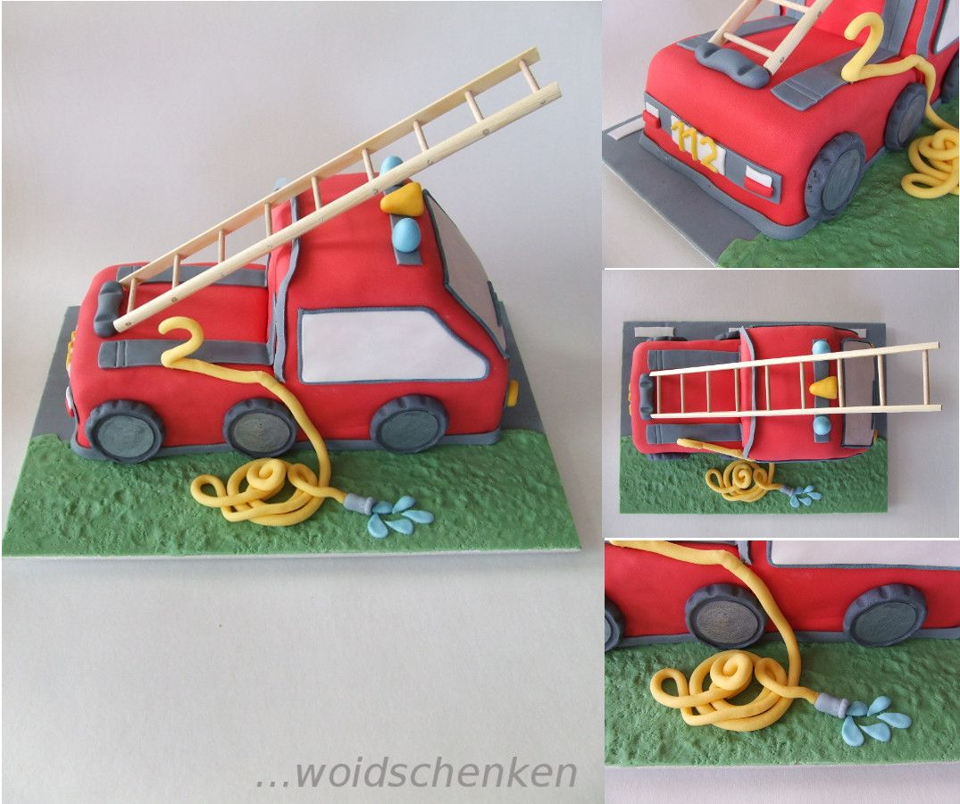 Kuchen Kinder Feuerwehr Children 39s Cakes Brilliant Bakery Fire