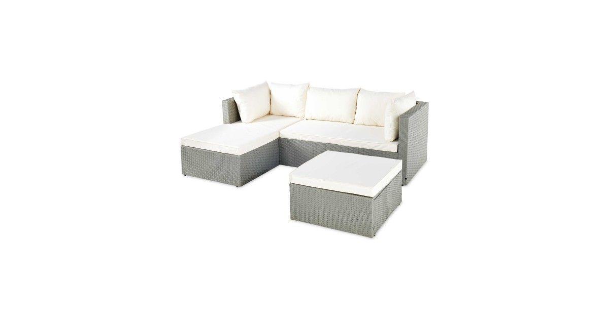 Gardenline Light Grey Corner Sofa Grey Corner Sofa Corner Sofa Outdoor Furniture Sets