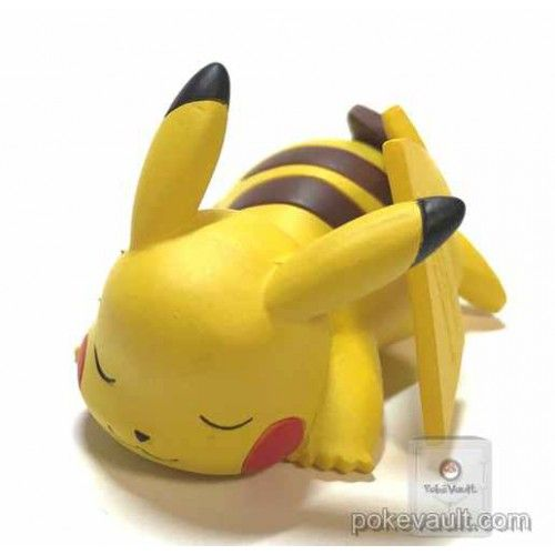 Pokemon 2015 Takara Tomy Oyasumi Friends Xy Z Collection Sleeping Pikachu Figure Clay Pokemon Cute Polymer Clay Polymer Clay Sweets