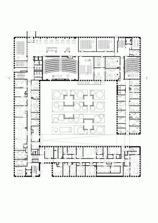 Tartu University Institute Of Physics Kadarik Tüür Arhitektid Stuudio Tallinn School Floor Plan Classroom Architecture College Architecture