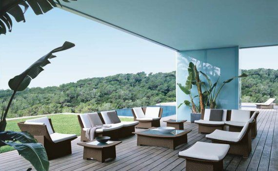 DEDON—The Spa collection by Richard Frinier indoor / outdoor ...