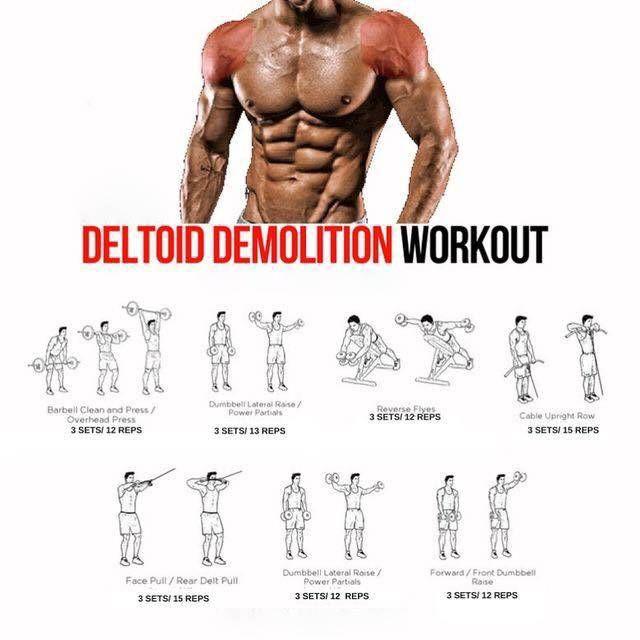 Destroy your shoulders!