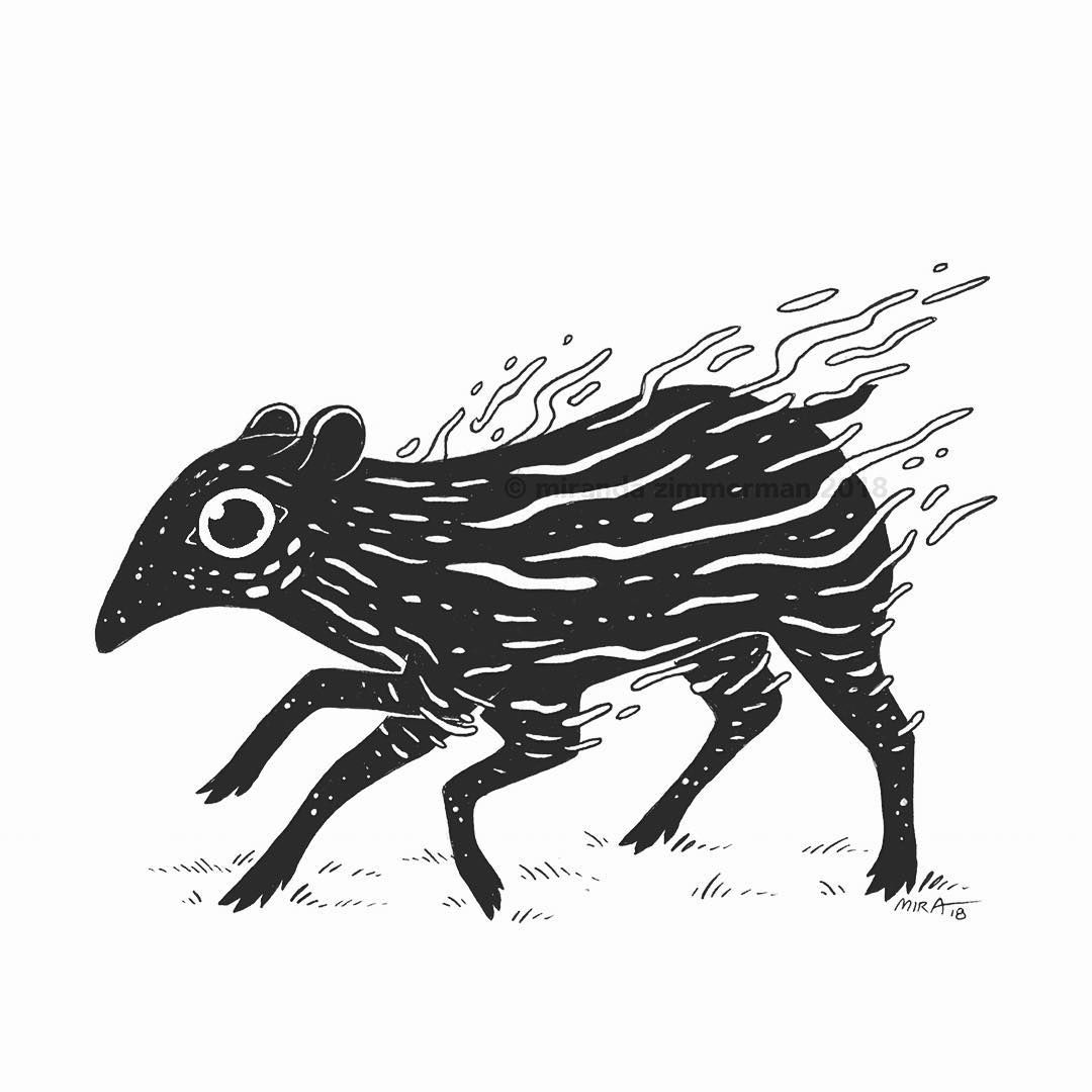O23 Tapir A Lil Baby Tapir Woooah Thank You For All Of The Votes On My Last Post I M Not Going To Take A Tally Until Thur Tapir Lil Baby India Ink