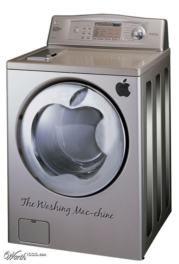 The #future of Apple - the washing Mac-chine ...? I think iLove it!