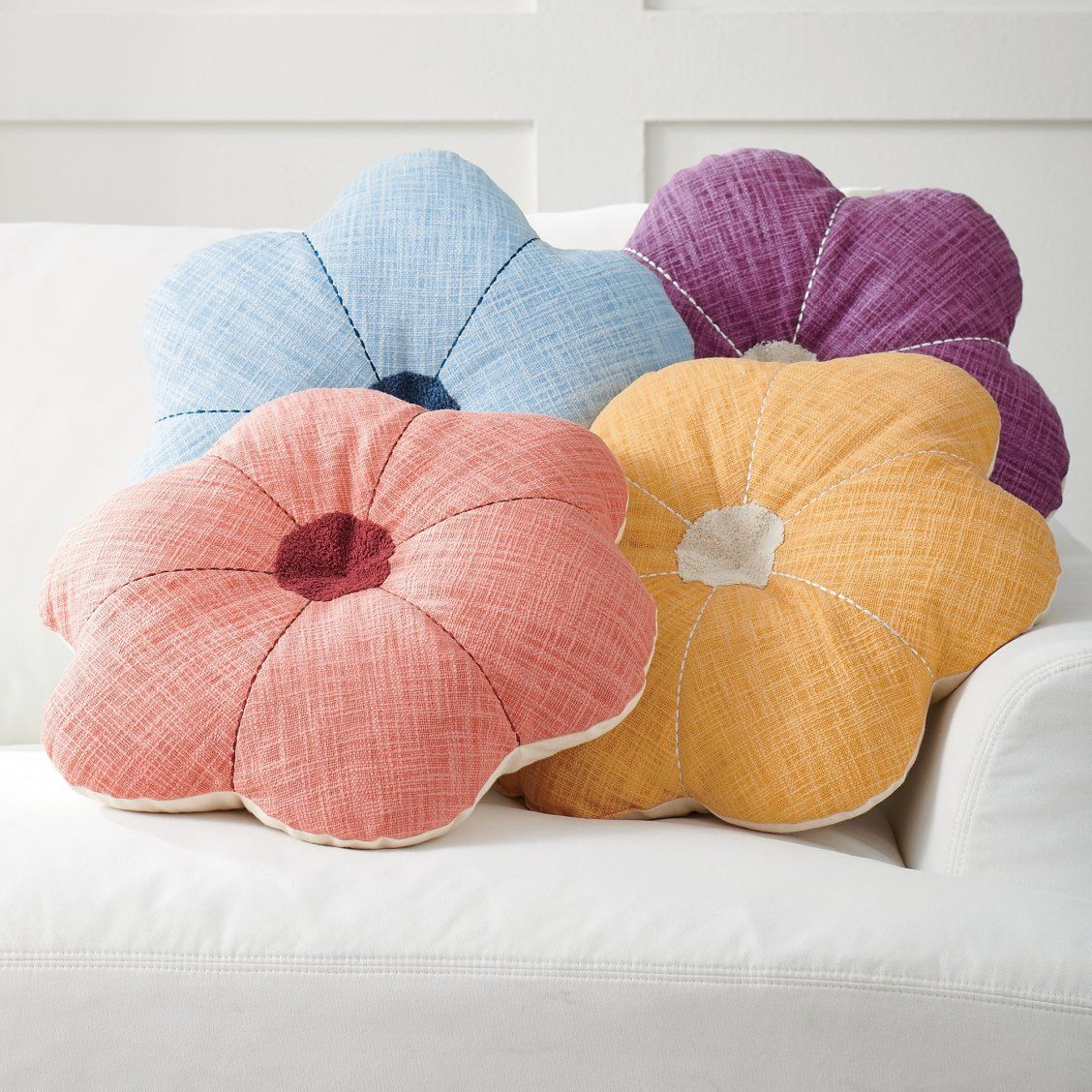 Addison Flower Pillow Flower Pillow Flower Throw Pillows
