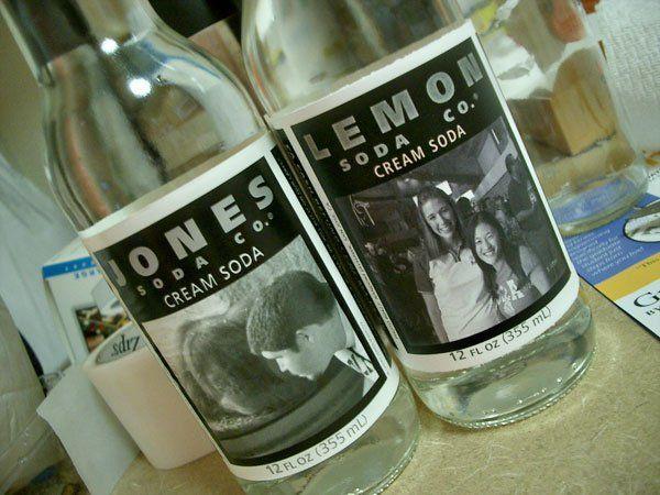 jones soda label template gift ideas pinterest soda bottles