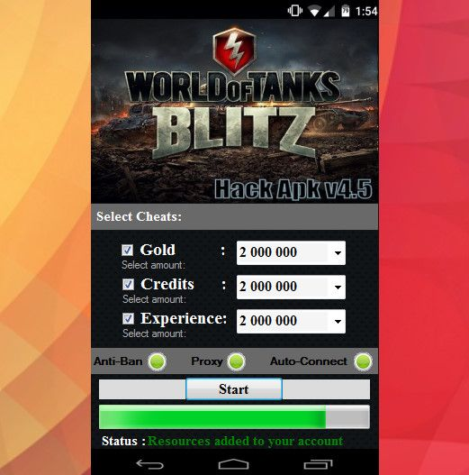 WORLD OF TANKS BLITZ HACK | Hack with App | jxkdkd, 2019