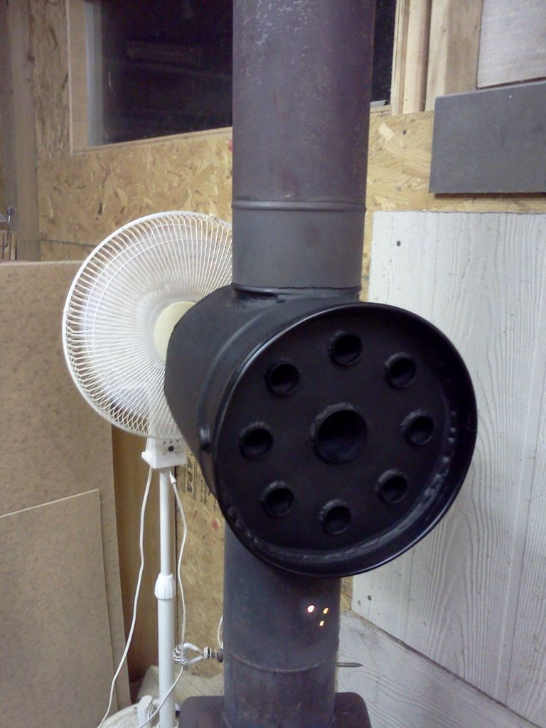 Diy Build Wood Stove Heat Exchanger For The Home