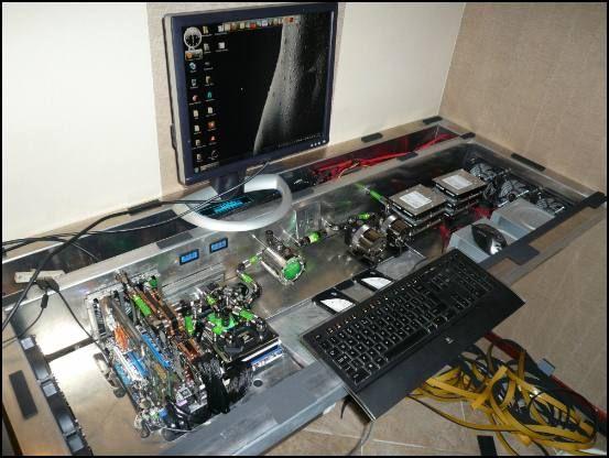 Project L3p D3sk Custom Built Computers Custom Computer Diy