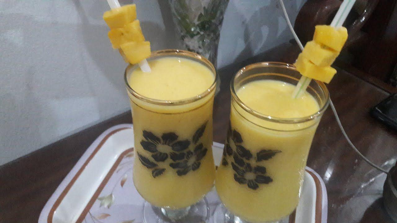 Yummilicious Mango Smoothie || Beat the heat - YouTube