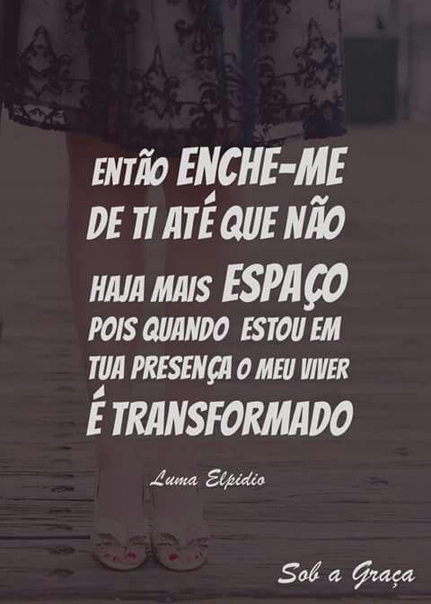 """""""Então liberta-me de mim, eu quero ser a Sua casa, se você estiver aqui, eu sei, eu venço o pecado.#  #LibertaMeDeMim #LumaElpídio"""