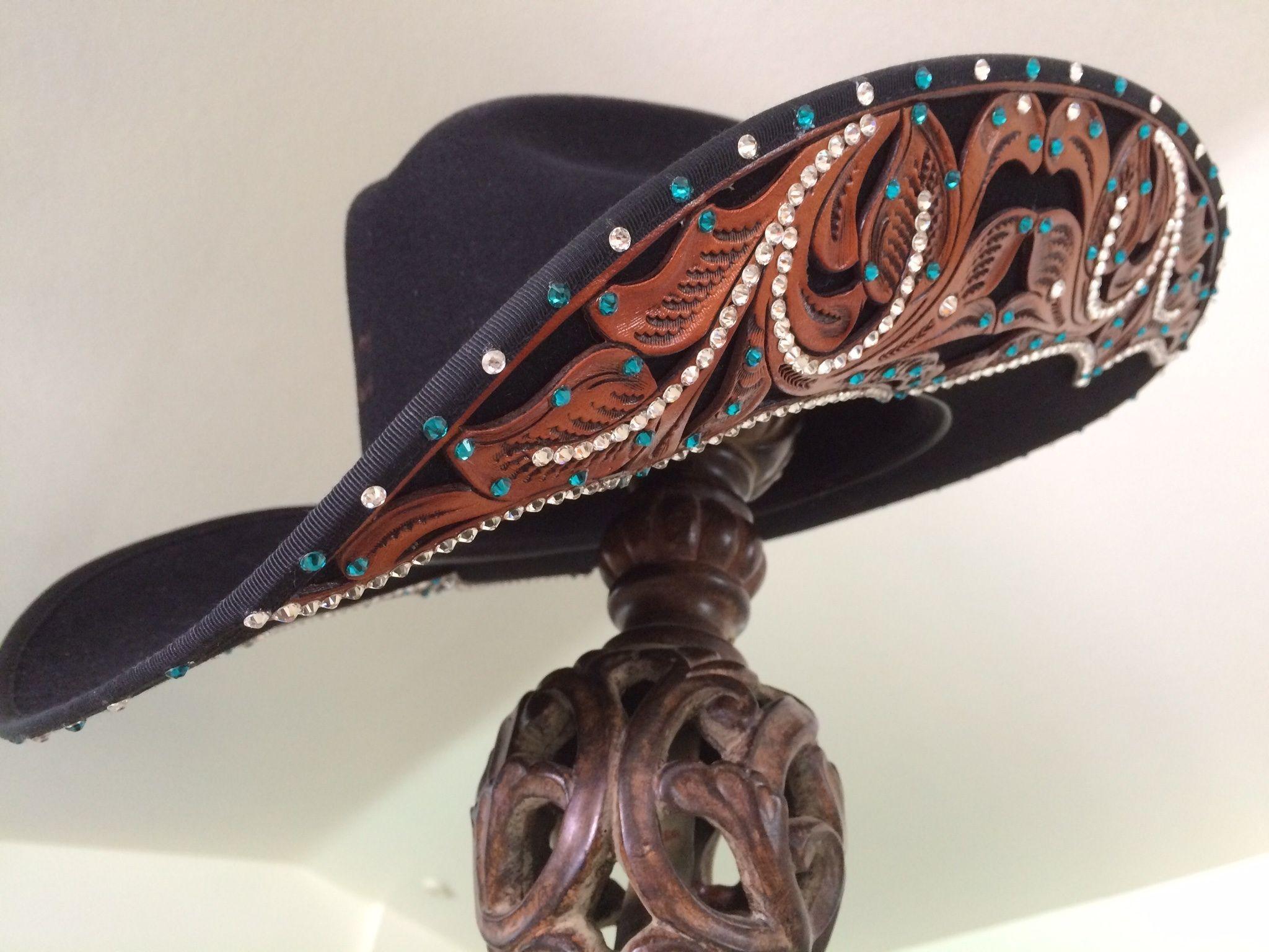 Custom blinged Charlie 1 Horse hat See more at Facebook.com brhats ... d89ee975a72