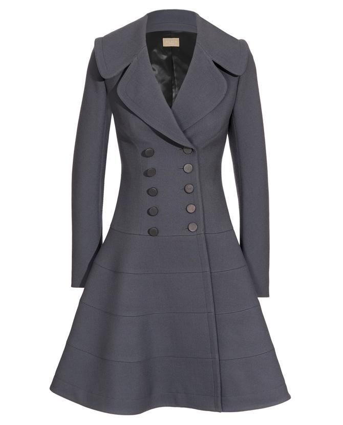 Wool Blend Coat Herbst/Winter Alaia gzniQzK