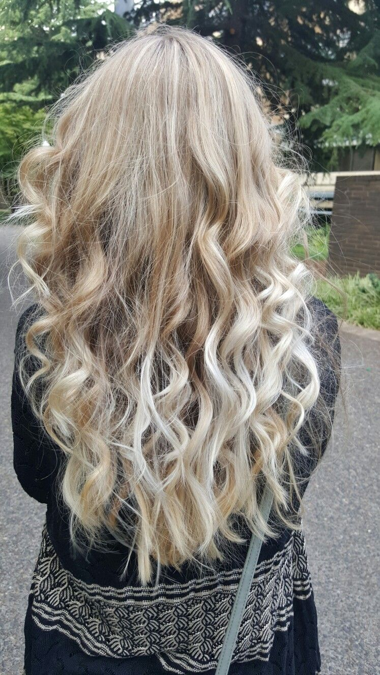 Summer blond ombre love her hair pinterest blond and ombre