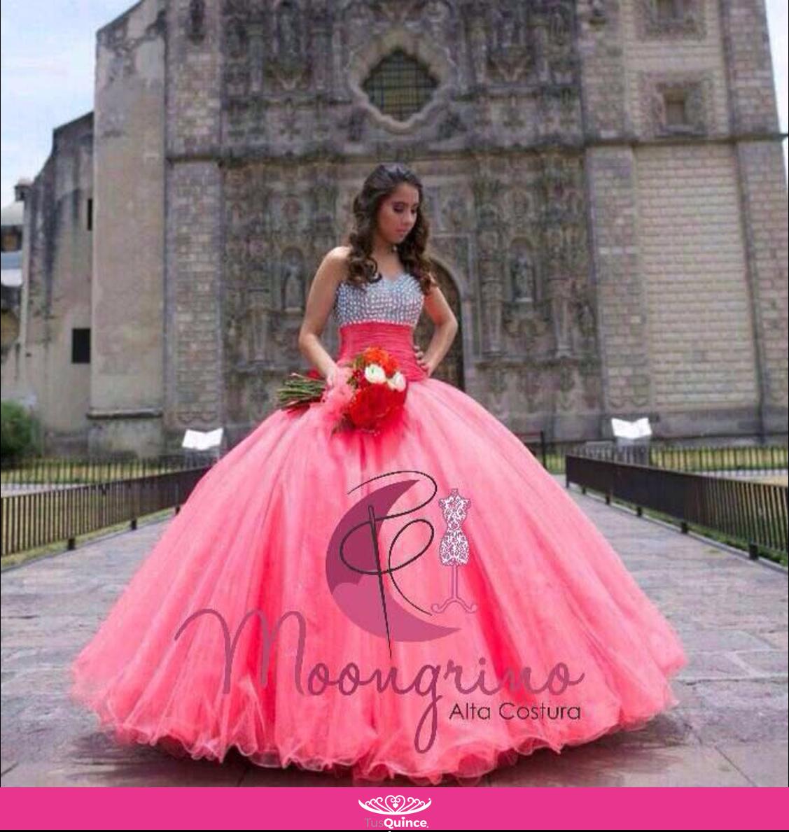 Vestido #TusQuincemx #Proveedor #Diseños Moongrino | vestidos ...