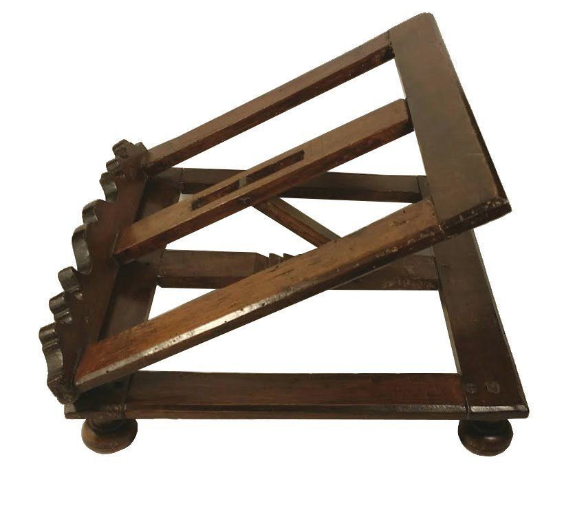 Antique Adjustable Wooden Book Stand Easel Holder Display Tabletop Recipe Rack Wooden Books Wooden Book Stand Book Stands