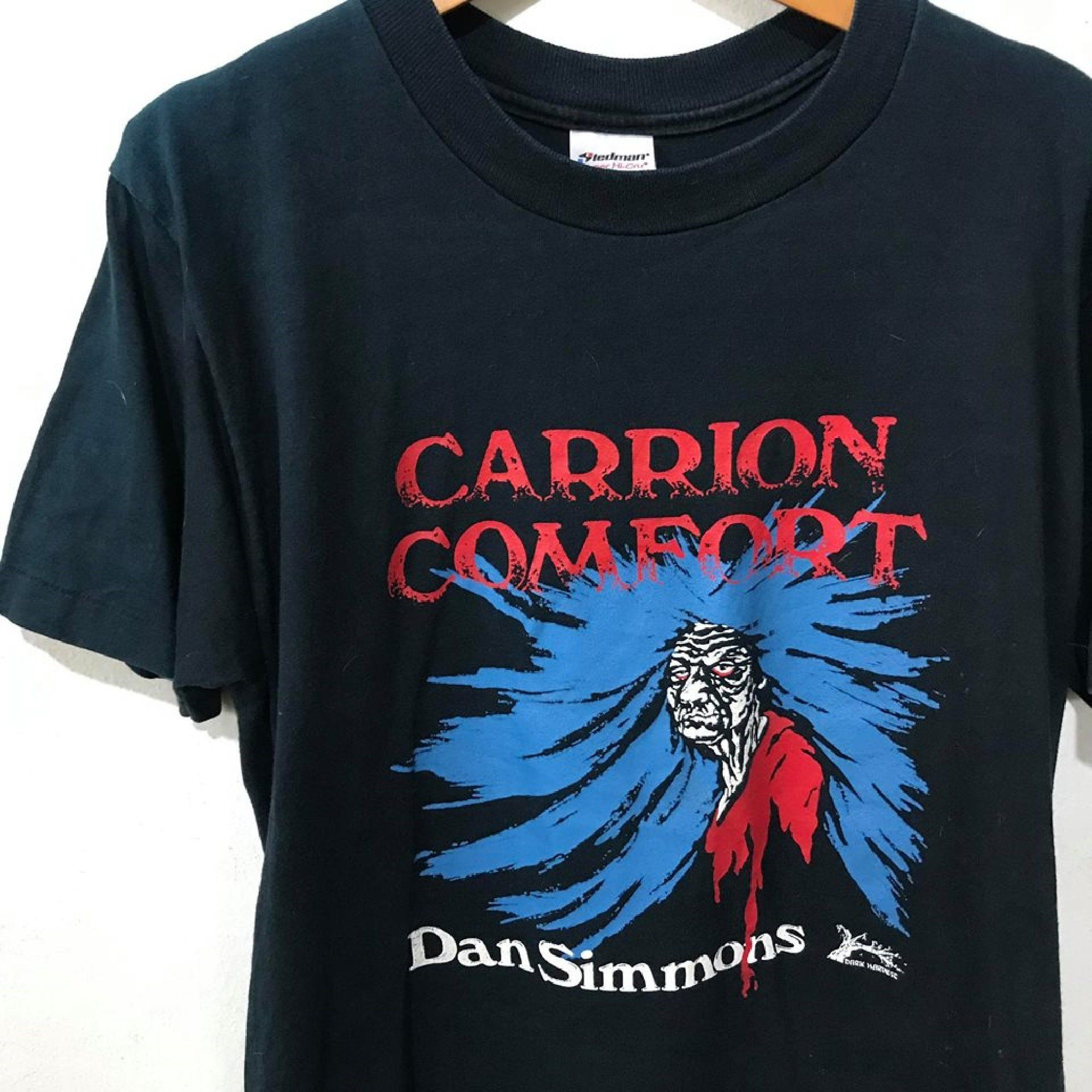 Vintage 90s Carrion Comfort Shirt Size M Free Shipping Shirts Mens Tops Shirt Size