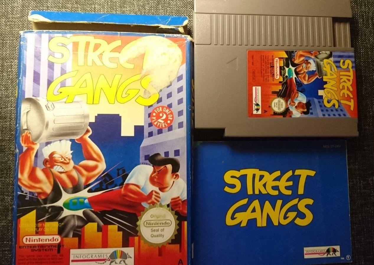 Street Gangs River City Ransom Nes Uk Pal A Complete Kunio Kun Technos Nes Ransom Gang