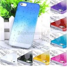 Vesipisara suojakuori iPhone 5S, eri värivaihtoehtoja