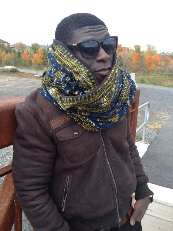 Check out this item in my Etsy shop https://www.etsy.com/listing/245261408/blue-african-winter-scarf-blue-ankara