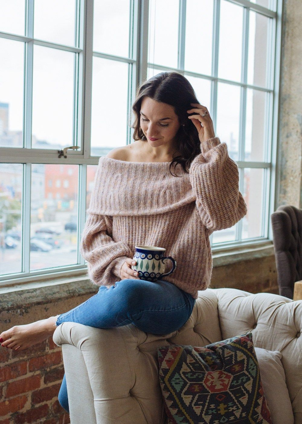 Under $30 Off The Shoulder Sweaters