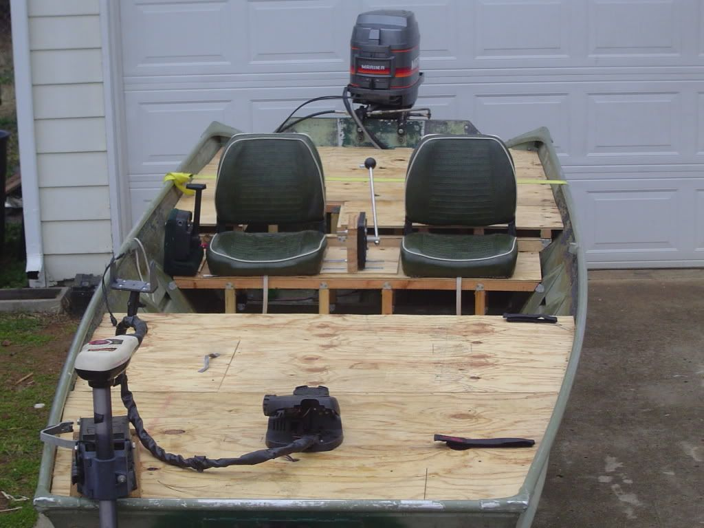 After Looking Over All The Jon Boat Builds On Here I Decided To Overhaul  Mine