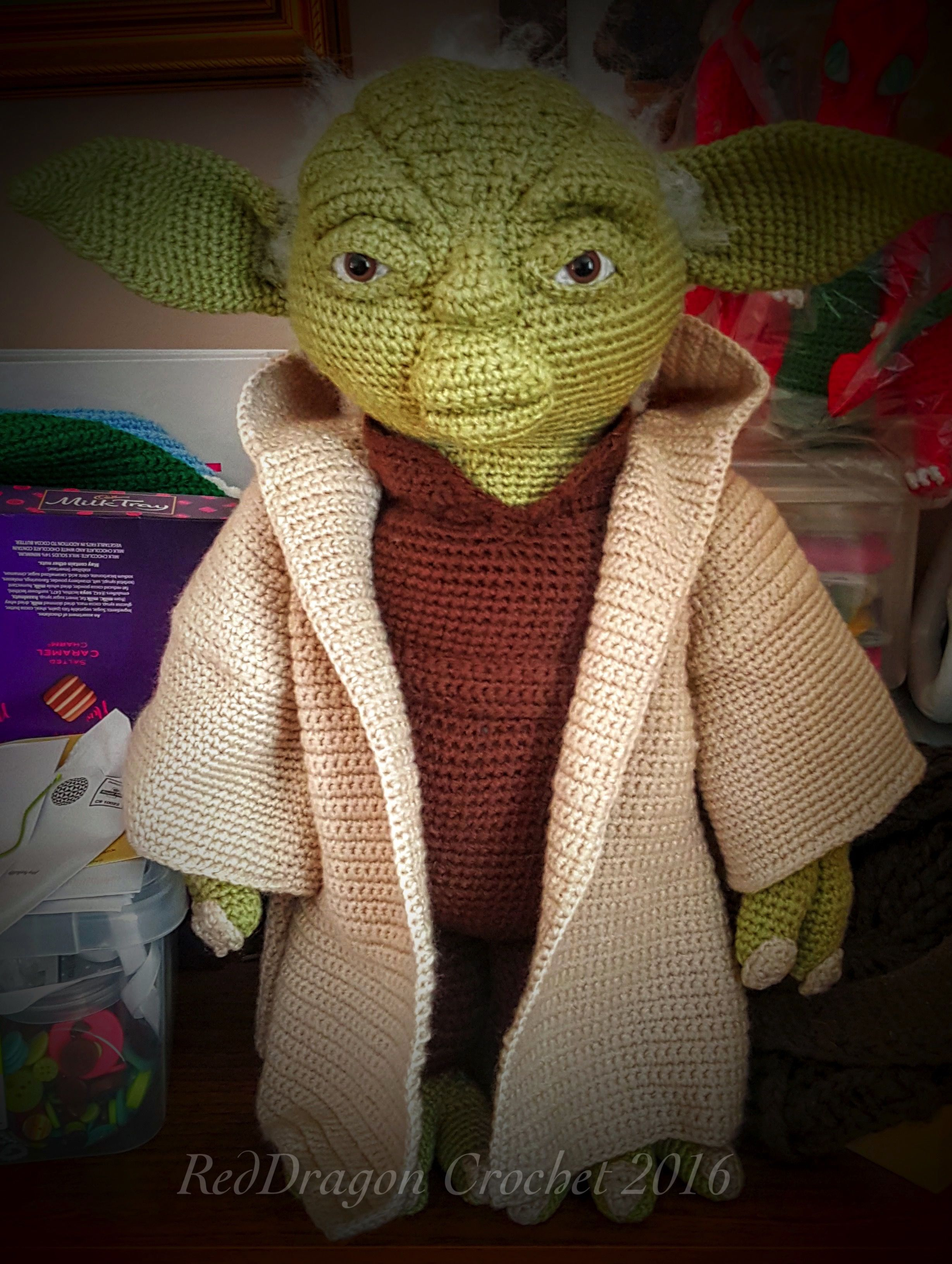 Ravelry: The Child/Baby Yoda Amigurumi pattern by hooked on fandom | 3263x2457